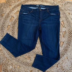 Massimo denim mid-rise skinny jeans size 18 GUC